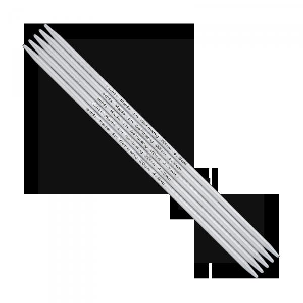 Nadelspiel Strumpfstricknadel Alu