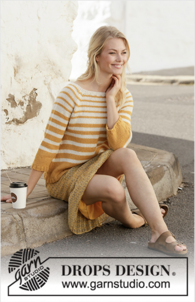 Let the Sun In Sweater by DROPS Design