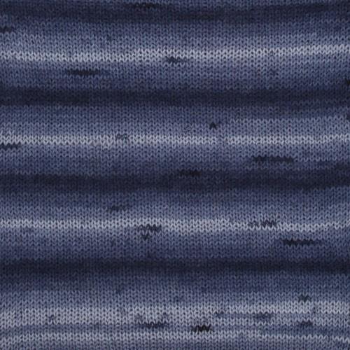 Drops Fabel Long Print 917 Ozean