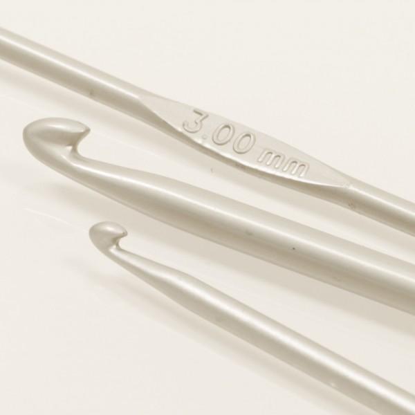 Drops Basic Häkelnadel Aluminium
