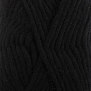 Drops Eskimo Uni Colour 02 Schwarz